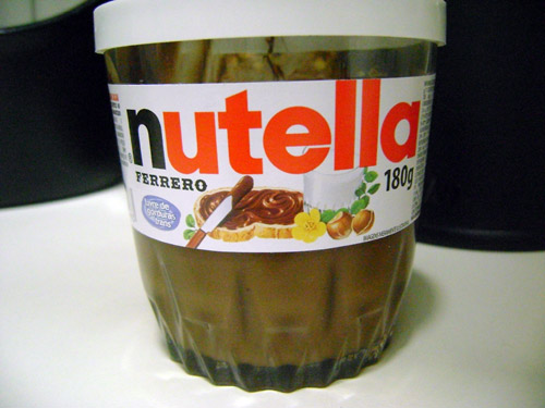 foto do pote de nutella