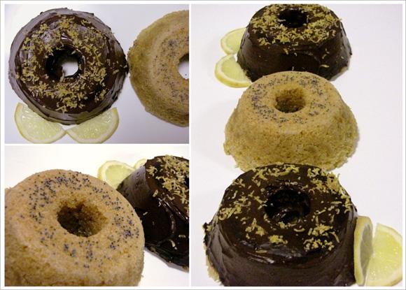 árias fotos de mini bolos de limao siciliano