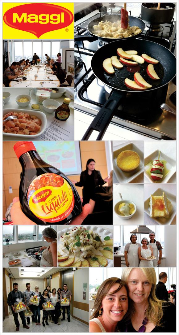fotos do almoço nestlé, na cozinha expeimental da Nestlé em são paulo