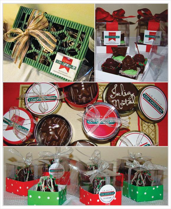 produtos da chocolates da le petit con chocolat