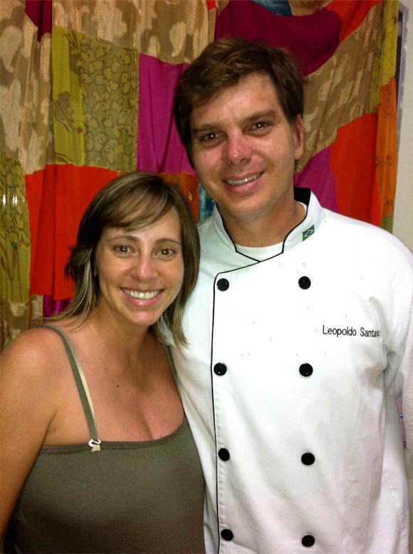 foto de Dani Oliveira do Cozinha Travessa e Chef Leopoldo Alves Santana