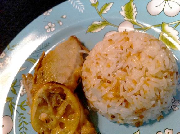 foto de lombo, com mostarda e limão siciliano