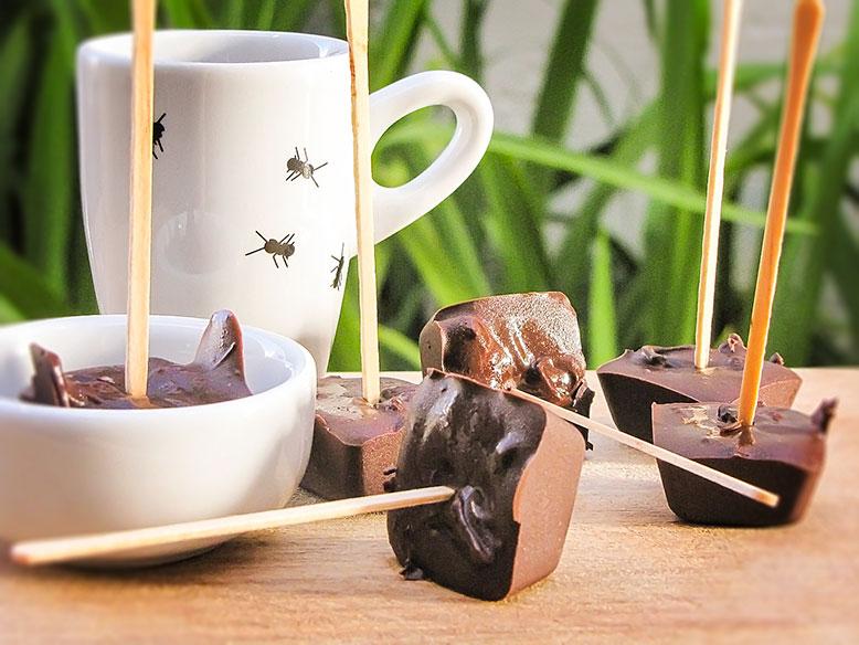 Chocolate no palito