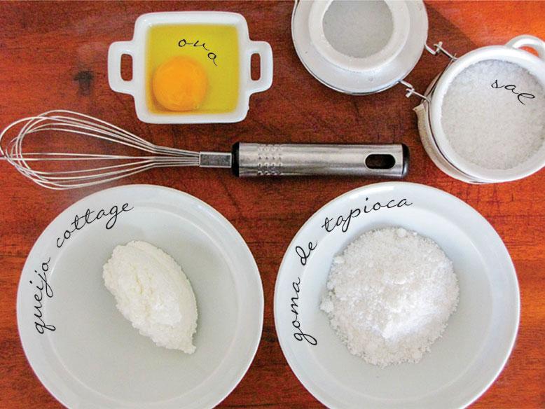 Pão de queijo de frigideira ou crepioca
