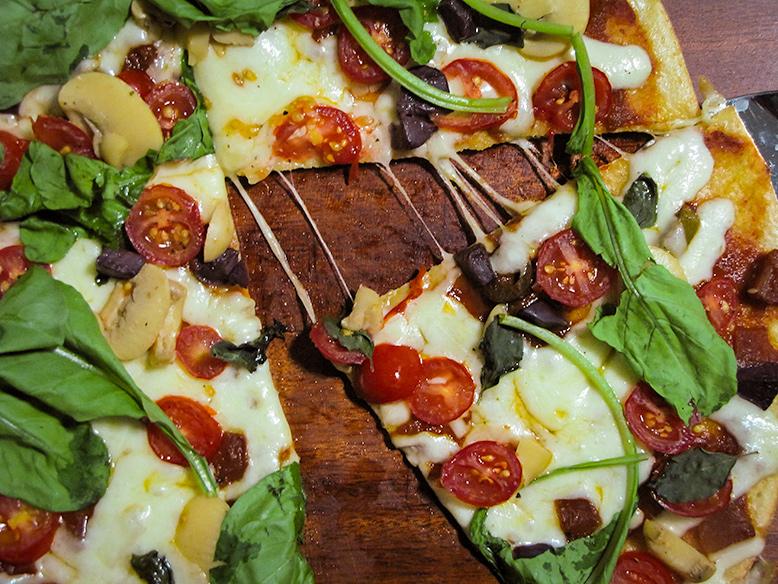 Pizza sem borda