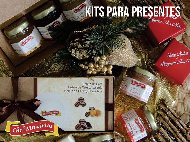 Chef Mineirim - Kits de presente para o Natal