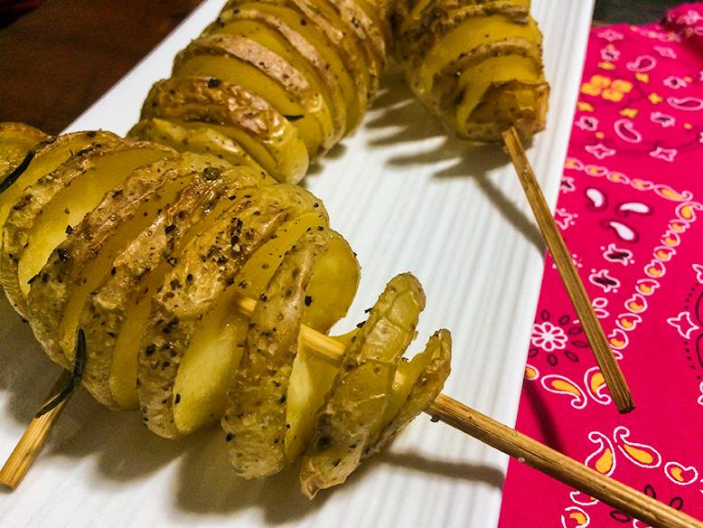 Receita de batata em espiral