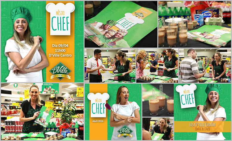 Mês do Chef - D´Ville Supermercados