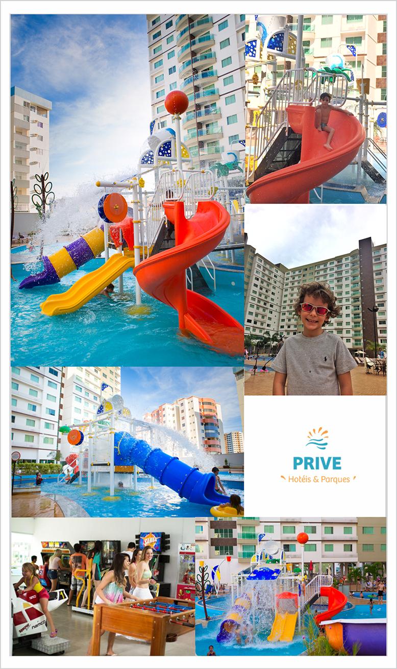Rede de Hotéis Prive - Caldas Novas/GO