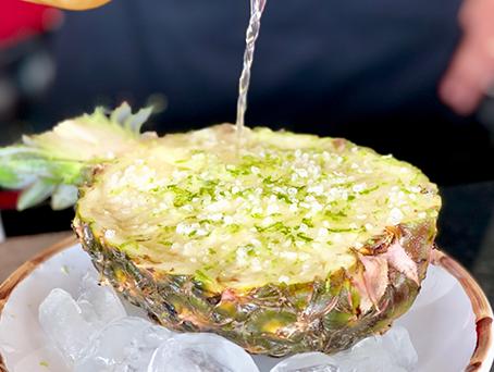 Receita de abacaxi hawaiano