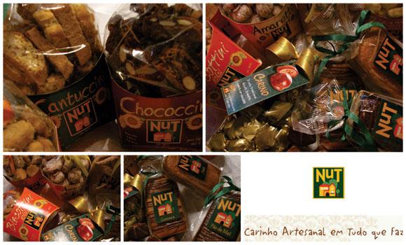 foto dos biscoitos e doces finos da Nut