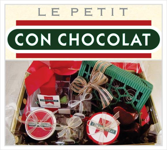 cesta de chocolates da le petitcon chocolat