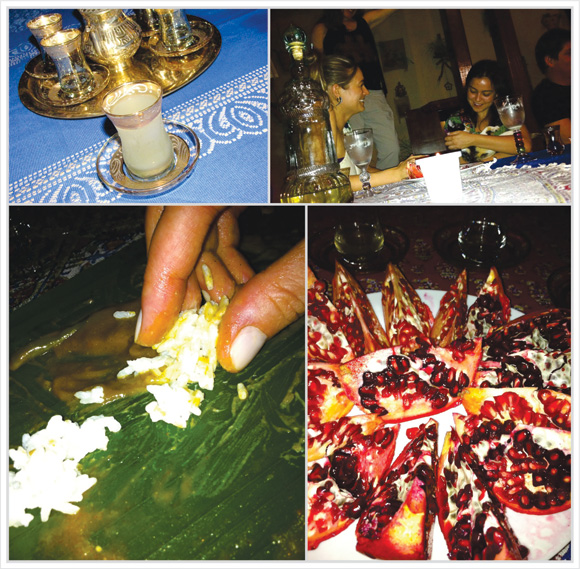 fotos do jantar indiano