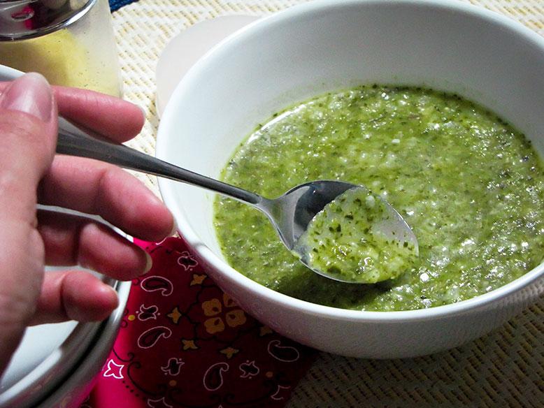 Receita funcional: caldo verde orgânico