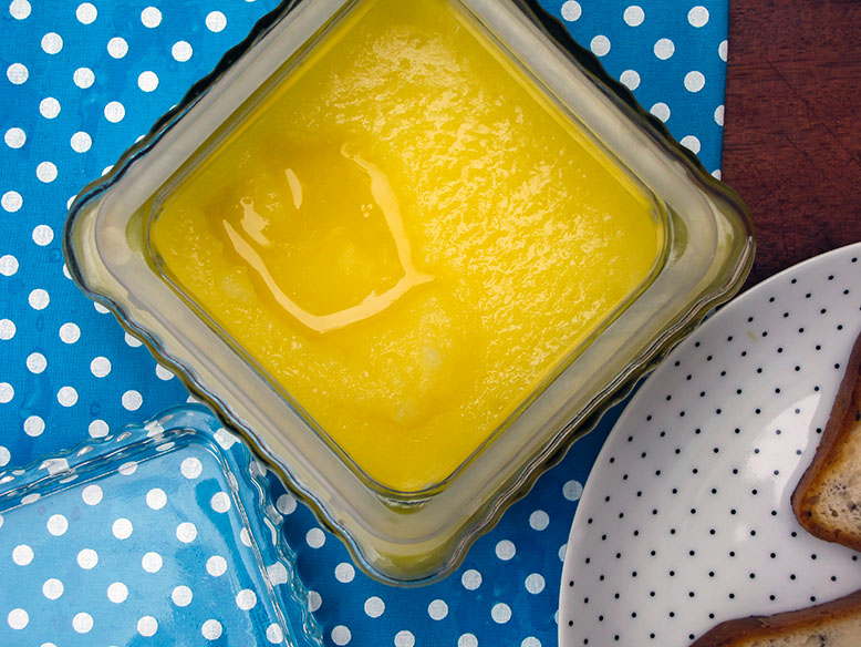 Ghee - a manteiga pura sem lactose