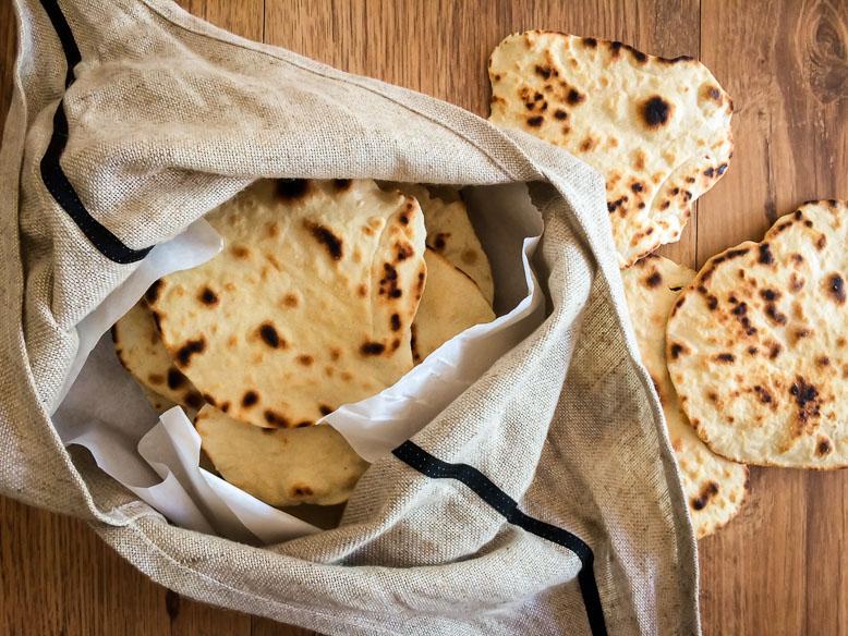 Receita de tortilhas rústicas