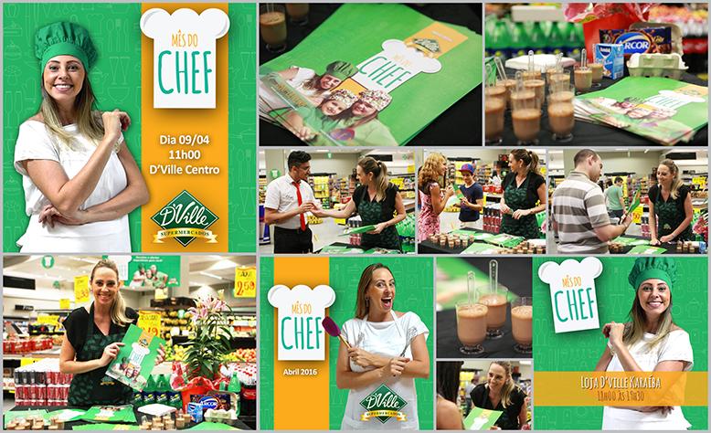 Mês do Chef - D´Ville Supermercados