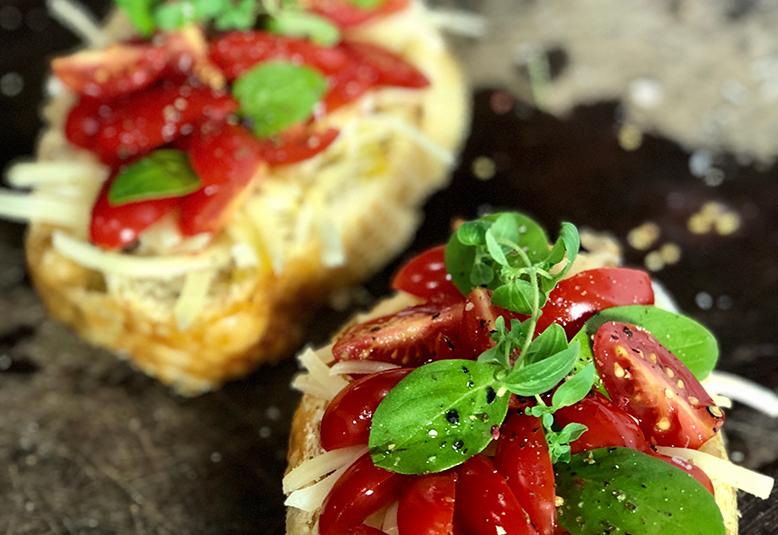 Minuto Gourmet: Receita de bruschetta italiana