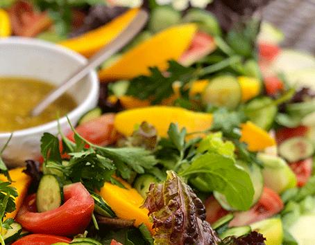 Receita de salada com maça verde