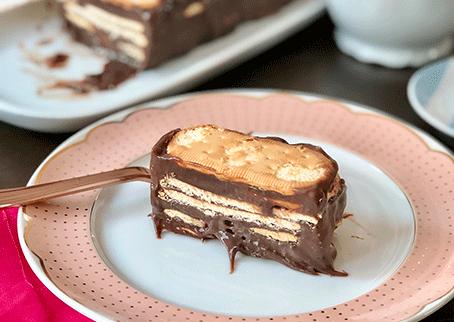 Receita de torta de palha italiana